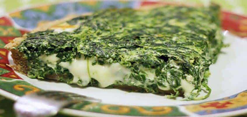 Ricetta Quiche scamorza e spinaci
